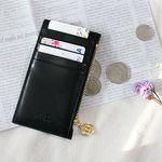 [테슬증정+무료배송] D.LAB Gato zipper wallet - Black