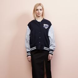 PATCH POINT BASEBALL JUMPER(NA)