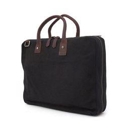 닉슨가방 Hub Briefcase Bag Black 메신저백
