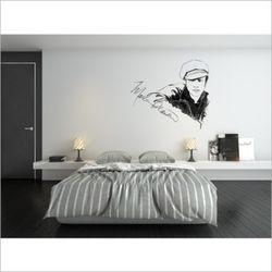 말런브랜도 영화 배우 디자인 포인트 벽지 뮤럴 벽지