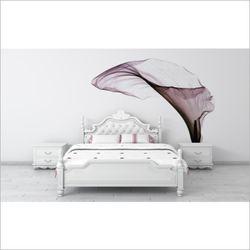 카라 꽃 디자인 포인트 벽지 카라 뮤럴 벽지 침실벽지