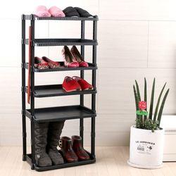 공간활용 신발정리대 대형 6단 부츠형