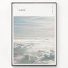 메탈 북유럽 인테리어 아트 포스터 액자 구름 [대형]