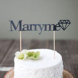메리미 웨딩 케이크토퍼(3clor)