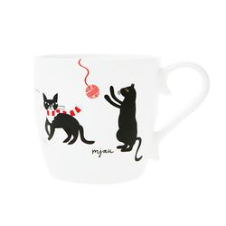 Cats 머그컵 (블랙)