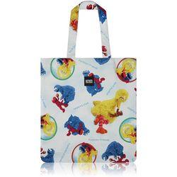 Sesame Friends Flat Tote Bag