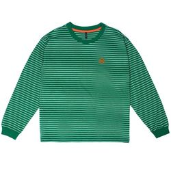 BAF 890 STRIPE LONG SHIRTS (GREEN)