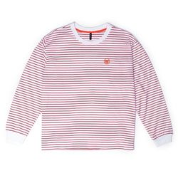 BAF 890 STRIPE LONG SHIRTS (RED)