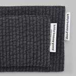 quilting gray pouch (medium)