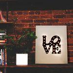 [도시시리즈]러브LOVE(뉴욕) 캔버스조명 DIY KIT