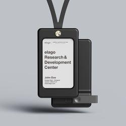 ID1 사원증 카드홀더 / USB 메모리별도