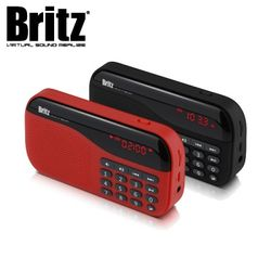 브리츠 효도 라디오 MP3 스피커 BA-PR1 SoundWalk