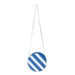 tambourine Stripe Shoulder bag - blue
