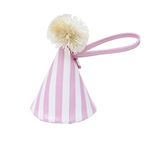 party hat bag - pink