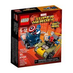 76065 마이티 마이크로 - 캡틴 아메리카 VS 레드 스컬