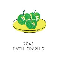 2048 math graphic
