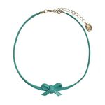 ribbon choker - mint