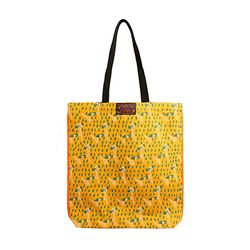 Pattern eco bag - Puppy Yellow