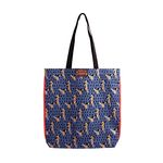 Pattern eco bag - Puppy Blue