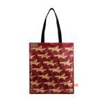 Pattern mesh bag - Alligator Wine