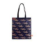Pattern mesh bag - Alligator Black