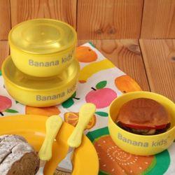 바나나키즈 분리형스텐식기세트