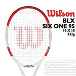 윌슨 테니스라켓 BLX 식스원95 16X18 332g 상급자