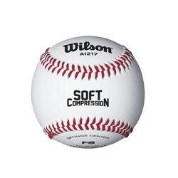 윌슨 야구공 SCB17 안전구 연습용 주니어 야구용품