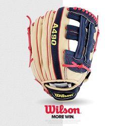 윌슨 야구글러브 A490 BN 12 AJ 경식용 야구용품