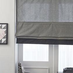 어반그레이 로만쉐이드-잔체크(140x160cm)