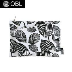 OBL 페페 블랙 파우치(M)