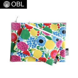 OBL 그린플로라 파우치(M)