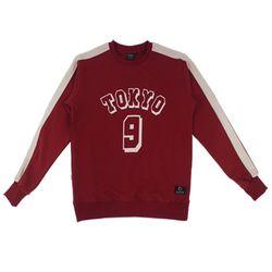 TOKYO 9 SWEAT SHIRT - RED