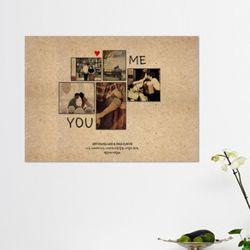 [사진형] YOU&ME MDF 액자