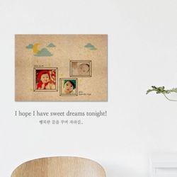 [사진형] 꿈꾸는 아이 MDF 액자