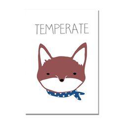 Maki illust Poster-Fox