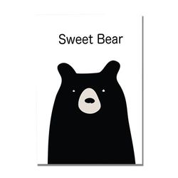 Maki illust Poster-Bear