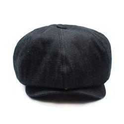 KUROKI DENIM NEWSBOY CAP
