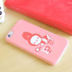 iPhone6s 바니퐁퐁 하드케이스 (핑크퐁퐁)