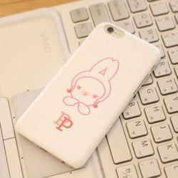 iPhone6s 바니퐁퐁 하드케이스 (화이트퐁퐁)