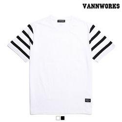 밴웍스 SPITZ STRIPE SLEEVE 티셔츠 2칼라(V16TS220)