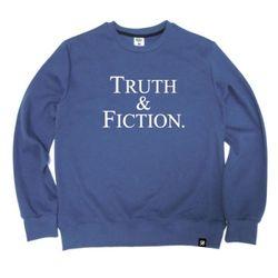 TRUTH & FICTION Crewneck Blue