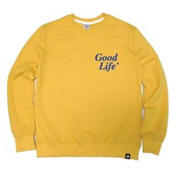 Good Life Crewneck Mustard