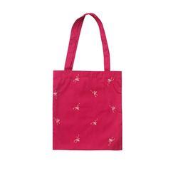 Special klover pattern shoulder bag - pink