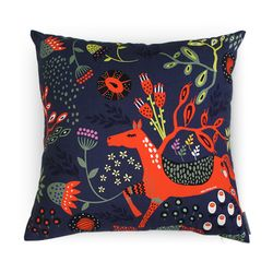 Art Fabric Cushion Cover - 나의정원[40x40cm]