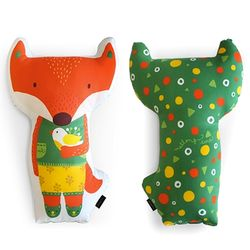 Animal Doll Cushion - 루나폭스
