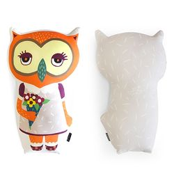 Animal Doll Cushion - 루나울리
