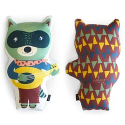 Animal Doll Cushion - 루나쿤
