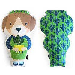 Animal Doll Cushion - 루나퍼피