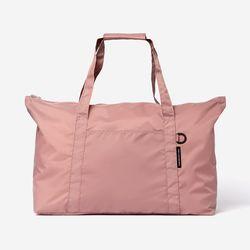 BOR(보르) 여행용 폴딩 보스턴백-핑크